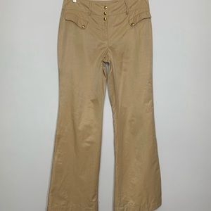 Worth trousers slacks pants gold lined career wear
